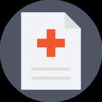 Transkribierter Text aus dem medizinischen Schreibbüro